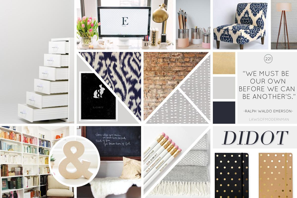 Mood Board Planche Tendance Pause Innovation